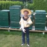 Finn bei den Bienen